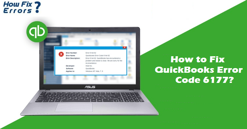 How to Resolve Quickbooks Error 6177, 0?
