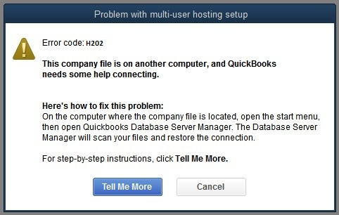 Quickbooks Error Code H202- What are the ways to fix it?