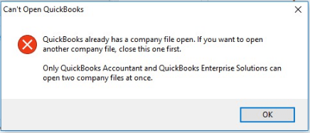 quickbooks won't open problem