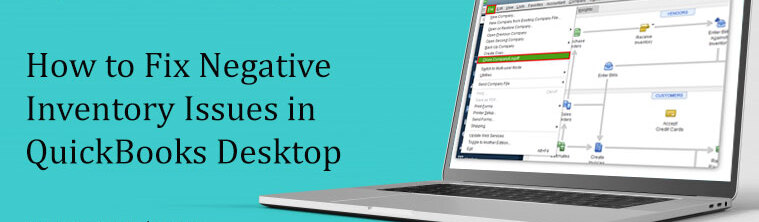 How to Fix Negative Inventory Asset in QuickBooks Online? – Resolved