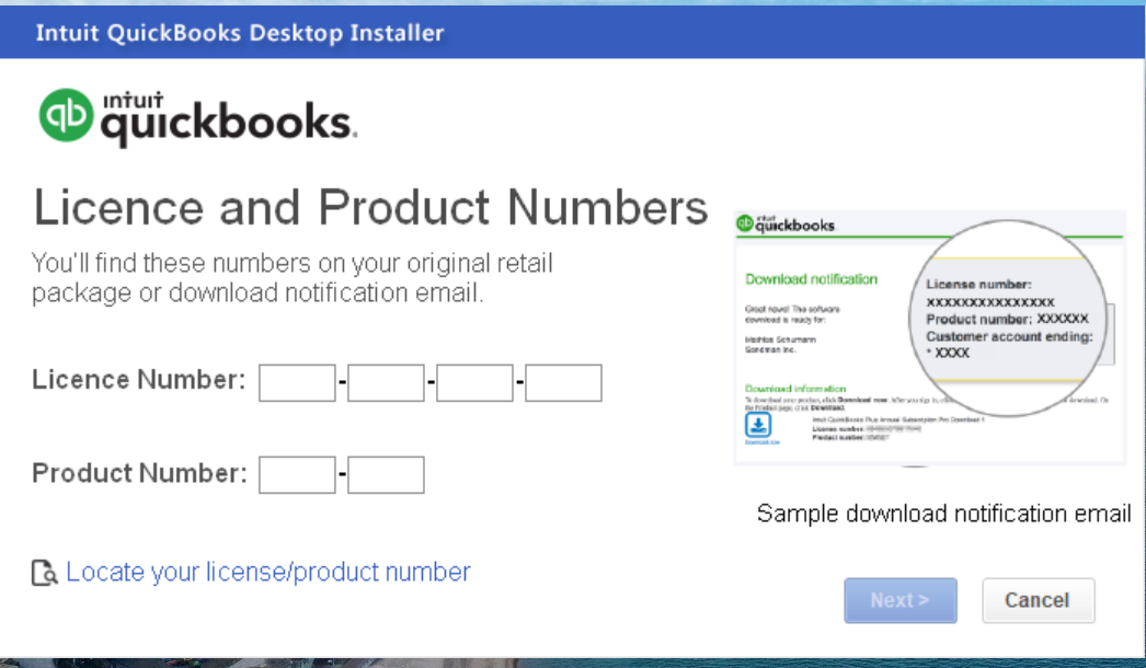 quickbooks error -6123, 0