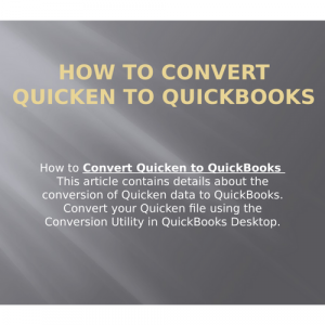 How to Convert Quicken to Quickbooks? [Complete Guide]